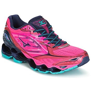 鞋子 女士 跑鞋 Mizuno 美津浓 WAVE PROPHECY 6 (W) 玫瑰色
