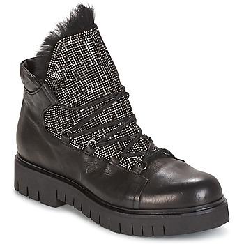 鞋子 女士 短筒靴 Now BIANCO 黑色