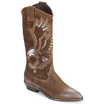 鞋子 女士 都市靴 Now SATURNA 棕色