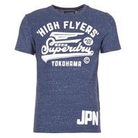 衣服 男士 短袖体恤 Superdry 极度干燥 HIGH FLYERS REWORKED 海蓝色