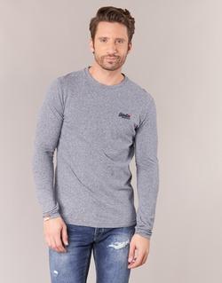 衣服 男士 长袖T恤 Superdry 极度干燥 ORANGE LABEL VINTAGE 灰色