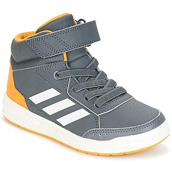 鞋子 男孩 高帮鞋 adidas Performance 阿迪达斯运动训练 ALTASPORT MID EL K 灰色