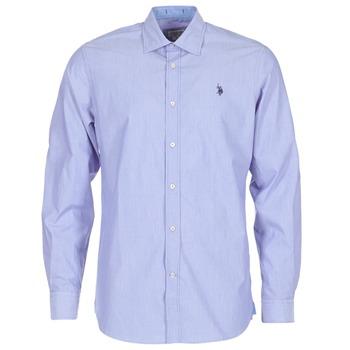 衣服 男士 长袖衬衫 U.S Polo Assn. 美国马球协会 RUSTY 海蓝色