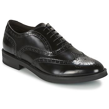 鞋子 男士 德比 Stonefly 斯通富莱 CLASS II 2 BRUSH OFF 黑色