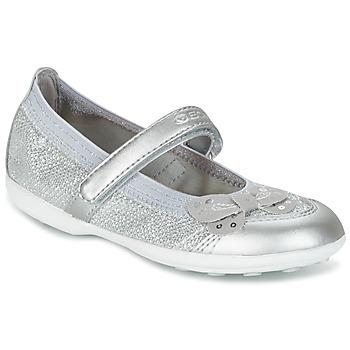 鞋子 女孩 平底鞋 Geox 健乐士 JR JODIE 蓝色