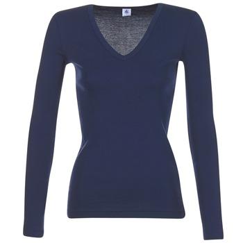 衣服 女士 长袖T恤 Petit Bateau 小帆船 LEOSA 海蓝色