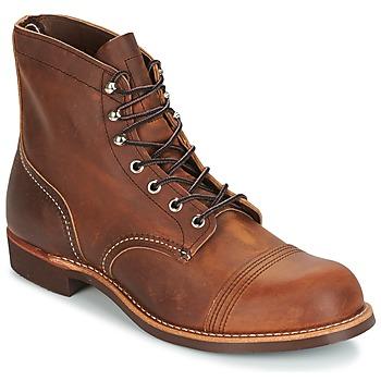 鞋子 男士 短筒靴 Red Wing 红翼 IRON RANGER 棕色