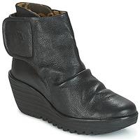 鞋子 女士 短靴 Fly London YOMI 黑色