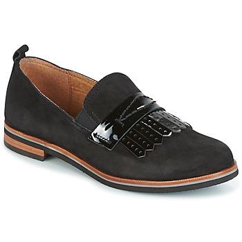 鞋子 女士 皮便鞋 Caprice CILA 黑色