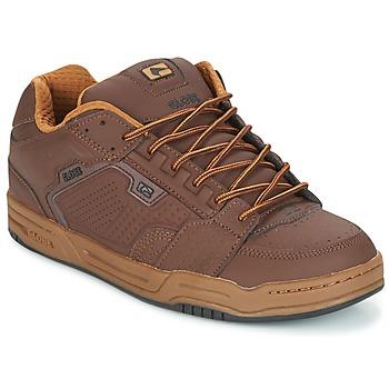 鞋子 男士 球鞋基本款 Globe SCRIBE 棕色