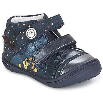 鞋子 女孩 短筒靴 Catimini ROSSIGNOL 海蓝色