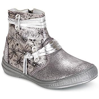 鞋子 女孩 短筒靴 GBB REVA 银灰色