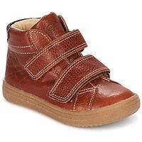 鞋子 男孩 高帮鞋 GBB NAZAIRE 红棕色