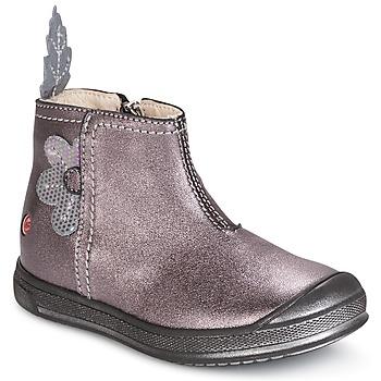 鞋子 女孩 短筒靴 GBB ROMANE 木头 / De / 玫瑰色