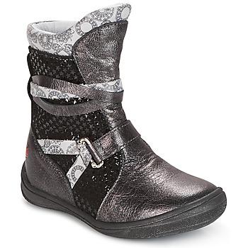 鞋子 女孩 短筒靴 GBB ROSANA 灰色