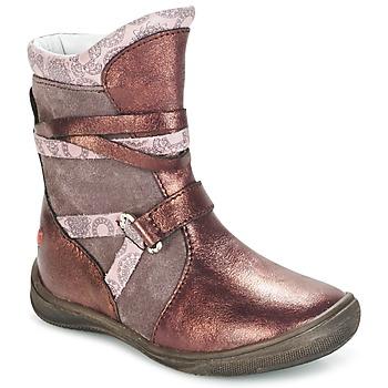 鞋子 女孩 短筒靴 GBB ROSANA 玫瑰色 / 波尔多红