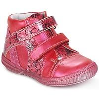 鞋子 女孩 短筒靴 GBB ROXANE 覆盆子红