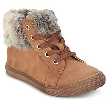 鞋子 女孩 短筒靴 GBB ROBERTA 棕色