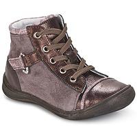 鞋子 女孩 短筒靴 GBB ROMIE 玫瑰色 / 波尔多红