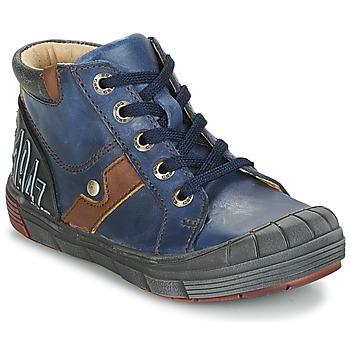 鞋子 男孩 高帮鞋 GBB RENOLD Vte / 海蓝色