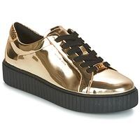 鞋子 女士 球鞋基本款 Michael by Michael Kors TRAVOR LACE UP 金色