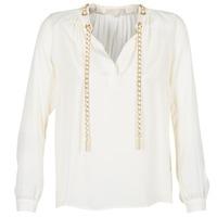 衣服 女士 女士上衣/罩衫 Michael by Michael Kors SLIT L/S CHAIN 奶油色