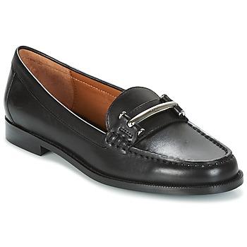 鞋子 女士 皮便鞋 Ralph Lauren FLYNN 黑色