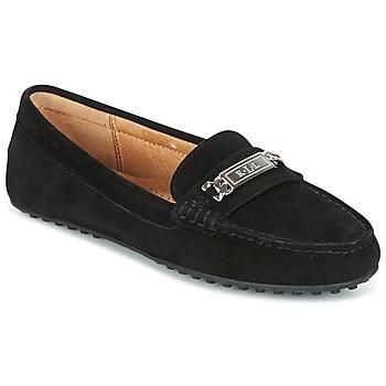 鞋子 女士 皮便鞋 Ralph Lauren BERDINE 黑色