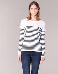 衣服 女士 羊毛衫 Betty London HOMI 海蓝色 / 白色