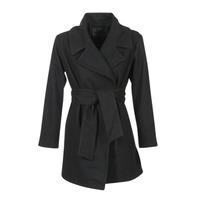 衣服 女士 大衣 Kaporal BANJO 黑色