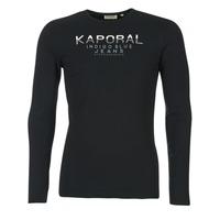衣服 男士 长袖T恤 Kaporal PONIO 黑色
