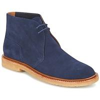 鞋子 男士 短筒靴 Polo Ralph Lauren KARLYLE 海藍色
