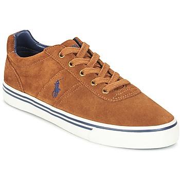 鞋子 男士 球鞋基本款 Polo Ralph Lauren HANFORD 棕色