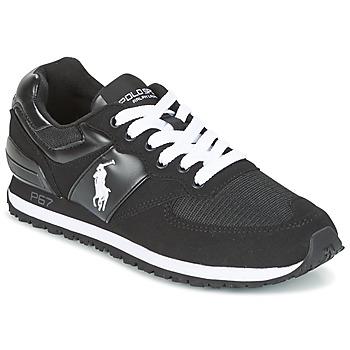鞋子 男士 球鞋基本款 Ralph Lauren SLATON PONY 黑色