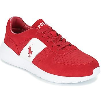 鞋子 男士 球鞋基本款 Polo Ralph Lauren CORDELL 红色