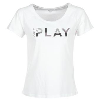 衣服 女士 短袖体恤 Only Play LINDA 白色