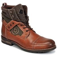 鞋子 男士 短筒靴 Bugatti MATINE 棕色