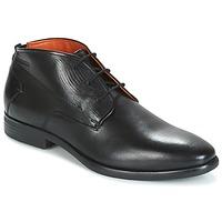 鞋子 男士 短筒靴 Bugatti MERANE 黑色