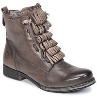 鞋子 女士 短筒靴 Bugatti PETRI 灰色 / Fonce