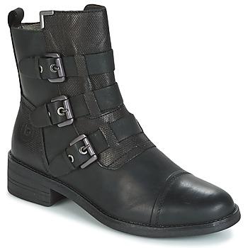 鞋子 女士 短筒靴 Bugatti POMO 灰色 / Fonce