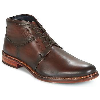 鞋子 男士 短筒靴 Daniel Hechter 丹尼爱特 STIVA 棕色 / Fonce