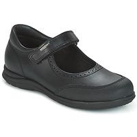 鞋子 女孩 平底鞋 Pablosky BRODY 黑色