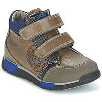 鞋子 男孩 高帮鞋 Pablosky DENTELY 灰色 / 蓝色