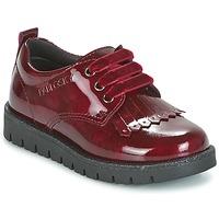 鞋子 女孩 德比 Pablosky PONY 红色