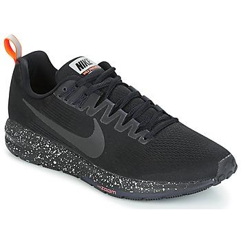 鞋子 男士 跑鞋 Nike 耐克 AIR ZOOM STRUCTURE 21 SHIELD 黑色