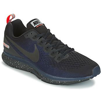鞋子 男士 跑鞋 Nike 耐克 AIR ZOOM PEGASUS 34 SHIELD 黑色 / 蓝色