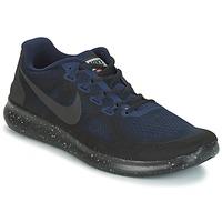 鞋子 男士 跑鞋 Nike 耐克 FREE RUN 2017 SHIELD 黑色 / 蓝色