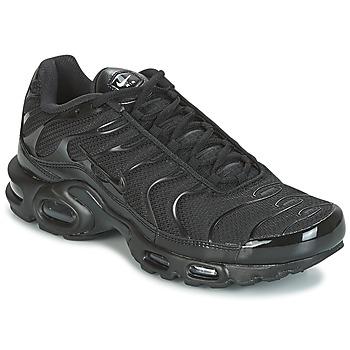 鞋子 男士 球鞋基本款 Nike 耐克 AIR MAX PLUS 黑色