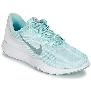 鞋子 女士 训练鞋 Nike 耐克 FLEX TRAINER 7 REFLECT W 白色 / 绿色