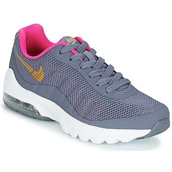 鞋子 女孩 球鞋基本款 Nike 耐克 AIR MAX INVIGOR GRADE SCHOOL 蓝色 / 玫瑰色